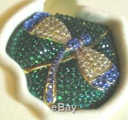 2001 Estée Lauder Poudre Compacte Cristal Dragonfly Tout Le Buzz Nouveau