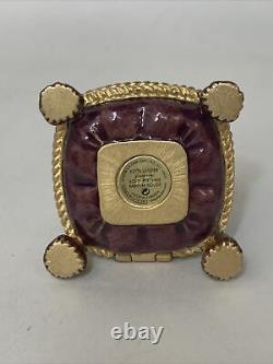 2002 Estee Lauder Jay Stronger Bejeweled Crown Pleasures Parfum Solid Compact