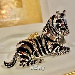 2002 Estée Lauder Parfum Solide Compact Zebra
