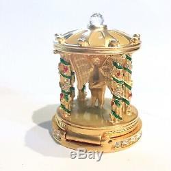 2003 Estee Lauder Cupids Jardin Belle Parfum Solide Compact Box