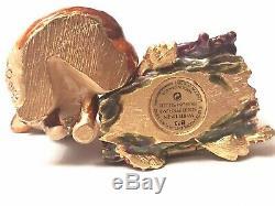 2003 Estee Lauder Jay Strongwater Fiery Fox White Linen Parfum Compact