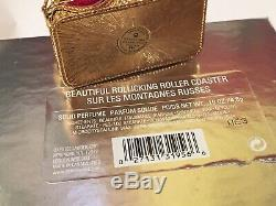 2003 Estee Lauder Rollicking Roller Coaster Belle Solide Boîte Compacte Nos