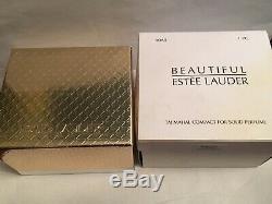 2003 Estee Lauder Taj Mahal Belle Solide Compact Box Poche