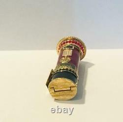 2004 Harrods/estee Lauder S'il Vous Plaît English Post Box Solid Parfum Compact
