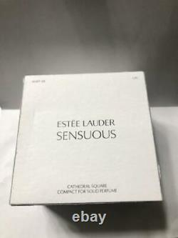 2008 Estee Lauder Sensuous Cathedral Square Solid Perfume Compact