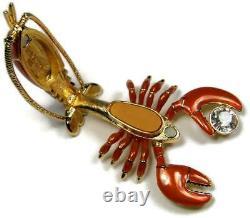 2009 Estee Lauder Figural Rock Lobster Beau Parfum Compact Non Utilisé