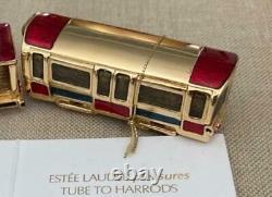 2009 Estee Lauder / Harrods Harrods London Train Tube Parfum Solide Compact