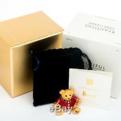 2014 Harrods Noël Ours Estee Lauder Parfum Solide Compact Edition Limitée