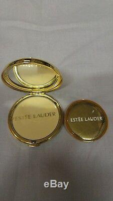 6 Vintage Estee Lauder Compacts L'attitude, Ruban Rose, Millenaire D'or