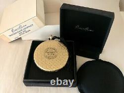 Années 1960 Montres Estee Lauder Pearl Case Compact Nouveau Stock Old Complete Withorig Box