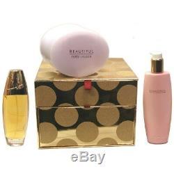 Beautiful By Estee Lauder Ensemble-cadeau De Luxe Pour Femmes, 3 Pièces
