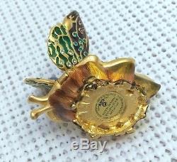 Cadeau De Saint Valentin Compact / Boîte De Parfum Solide Estee Lauder Strongwater Butterfly