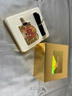 Coach De Estée Lauder Parfum Solide Cendrillon Compact, Boîte D'origine