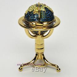 Collection Globe Compact Pour Parfum Solide Estee Lauder 2001