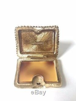 Compact De Parfum Solide Pour Chat Cat Este Lauder À Double Caisse
