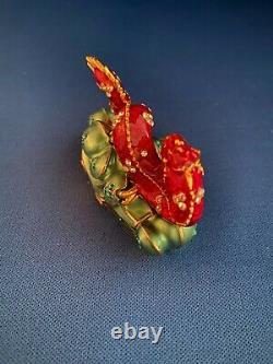Compact De Perfume Solide De Lucky Lauter Lucky Estee Dragon Avec Beautiful Fragrance