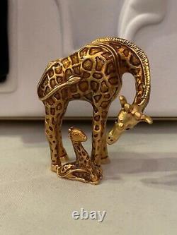 Compacts De Parfums Solides Estee Lauder / Giraffe, 2002 Compact D'édition Limitée