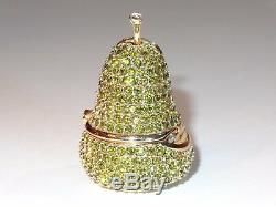 Cristal Estee Lauder Vert Poire Parfum Solide Compact Belle 1996