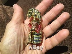 Difficile À Trouver! Nib Estee Lauder 2003 Vegas Showgirl Compact Incroyable Détails