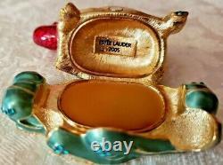 Dragon Estee Lauder Lucky De 2005 Compact Solide De Perfume Mibb