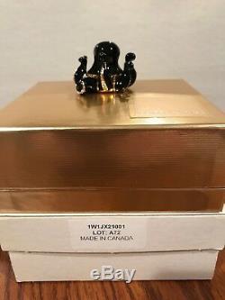 Estée Estee Lauder Compact En Parfum De Pieuvre, Lin Blanc 2002