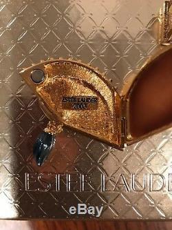 Estée Estee Lauder Intuition 2003 Compact Compact Parfum Ventilateur Vénitien