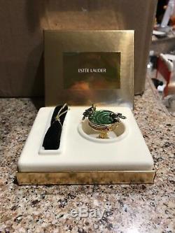 Estée Estée Lauder Pleasures 2001 Compact Parfum Solide Birdbath