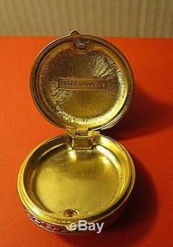 Estee Lauder 1981 Série Ivoire Imperial Princes Parfum Solide Compact Box / Vide