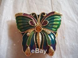 Estee Lauder 1993 Open Wing Parfum Compacte Plein Menthe