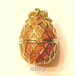 Estee Lauder 1996 Golden Pineapple Solid Parfum Compact Mib Parfum - Connaissance