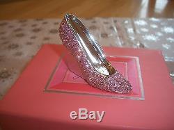 Estee Lauder 1996 Parfum Rose Slipper Compact Mib Gorgeous