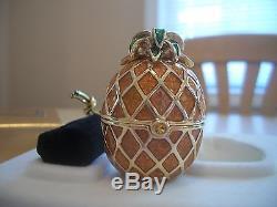 Estee Lauder 1996 Sachant Parfum Solide Compacte Ananas Mib Belle