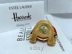 Estee Lauder 1/400 Harrods William Bear Solide Parfum Compact In Orig. Des Boites