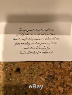 Estée Lauder 1 De 400'02 Harrods Classique Livraison Van Parfum Compact