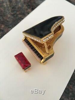 Estee Lauder 2000 Piano Parfum Set Compact