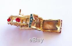 Estee Lauder 2000 Pleasures Collection Grande Roue Compacte Avec Parfum Solide