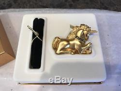 Estee Lauder 2001 Parfum Solide Compact Licorne Magique Mib Full Pleasures