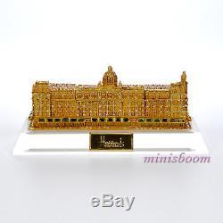 Estee Lauder 2002 Harrods Palace Parfum Solide Nib Perpex Support Inclus