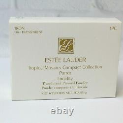 Estee Lauder 2002 Mosaïques Tropicales Parrot Swarovski Lucidity 06 Compact Mibb