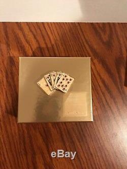 Estee Lauder 2002 Vegas Main Chanceuse (poker) Parfum Solide Compact Nouveau