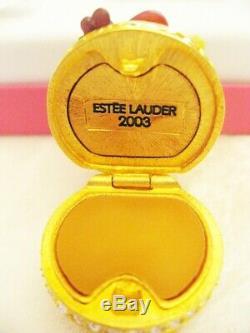 Estee Lauder 2003 Luscious Parfum Solide Fruit Compact Nouveau & Mibb