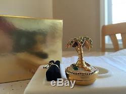 Estee Lauder 2003 Parfum Compact Solide Mib Rare Plaisirs De L'oasis Chimmant