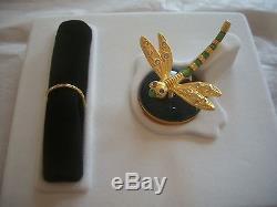 Estee Lauder 2003 Parfum Compacte Pour Les Plaisirs De La Libellule Precieuse Dans La Boite