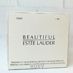 Estee Lauder 2003 Solid Perfume Compact Enchanted Mushroom Strongwater Mibb