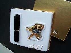 Estee Lauder 2004 Belle Fleur Panier Brouette Solide Parfum Compact