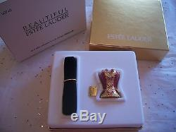 Estee Lauder 2004 Bustier Buste Mib Plein Parfum Solide Parfum Magnifique