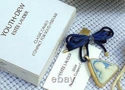 Estee Lauder 2004 Cameo Solid Collier De Parfum Compact Dans Les Boîtes Orig