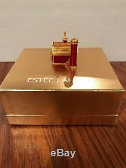 Estée Lauder 2004 Little Red Barn Parfum Solide Compact