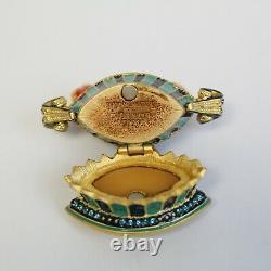 Estee Lauder 2004 Solid Perfume Compact Tulip Quartet Stongwater Mibb Plaisirs