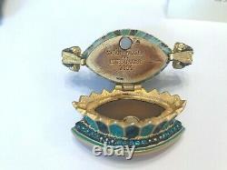 Estee Lauder 2004 Un Parfum Compact Mibb Tulip Quartet Par Jay Strongwater